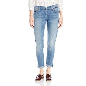 4306 7 For All Mankind Josefina Skinny BF Jeans 30